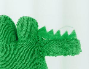 DIY, Eldivenden Dinozor Yapılışı 11