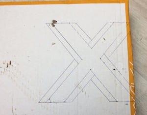 DIY, Karton Kutudan Harf Yapılışı 9