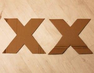 DIY, Karton Kutudan Harf Yapılışı 10