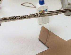 DIY, Karton Kutudan Harf Yapılışı 7