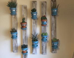 DIY,Saksı Duvar Paneli Yapılışı 8