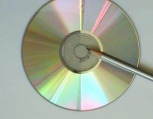 Eski CDden Bardak Altlığı Yapılışı 6