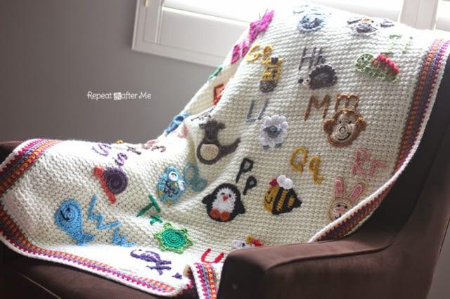 Hayvan Aplikeli Bebek Battaniyesi Yapılışı 10