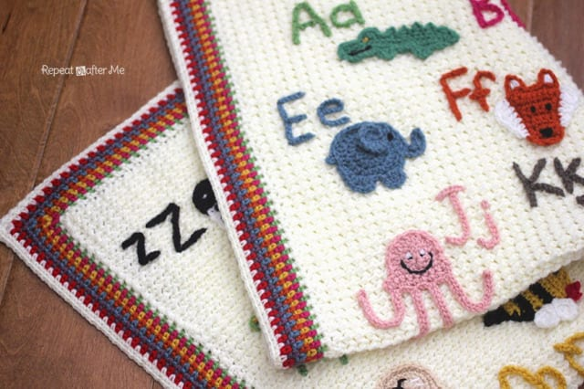 Hayvan Aplikeli Bebek Battaniyesi Yapılışı 7