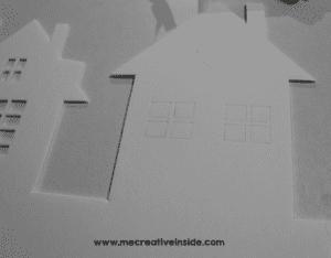 Kağıttan Işıklı Duvar Süsü Yapılışı 3