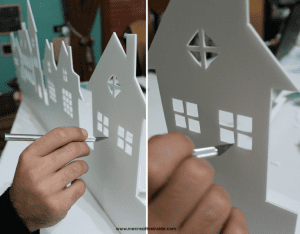Kağıttan Işıklı Duvar Süsü Yapılışı 4
