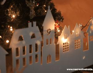 Kağıttan Işıklı Duvar Süsü Yapılışı 6