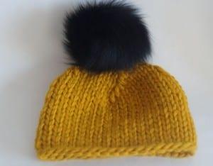Kalın İplikle Kürklü Şapka Yapılışı 11