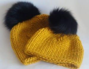 Kalın İplikle Kürklü Şapka Yapılışı