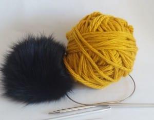Kalın İplikle Kürklü Şapka Yapılışı 6