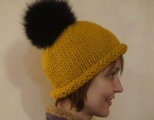 Kalın İplikle Kürklü Şapka Yapılışı 7