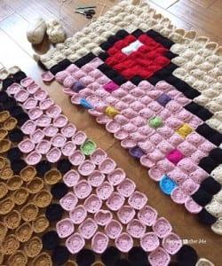 Kapkek Bebek Battaniyesi Yapılışı 4