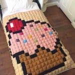 Kapkek Bebek Battaniyesi Yapılışı 8