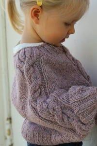 Kız Çocuk Örgü Panço Yapılışı 3