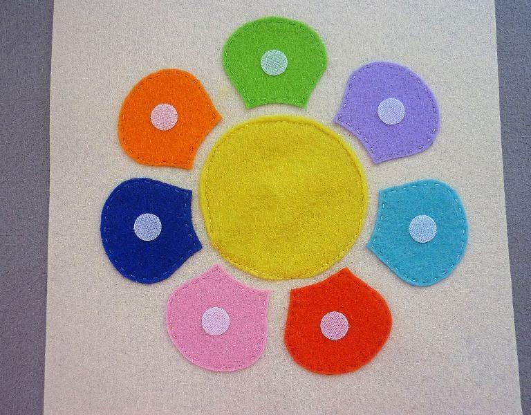 Okul Öncesi Çocuklar İçin Renk Oyunu 9