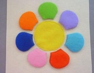 Okul Öncesi Çocuklar İçin Renk Oyunu