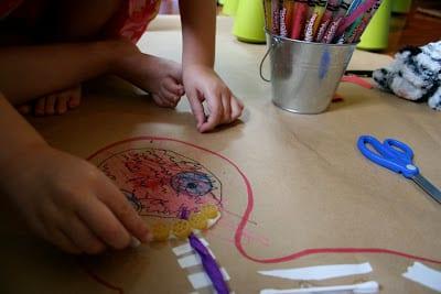 Okul öncesi Vücudumuz Sanat Etkinlikleri 10 Mimuucom