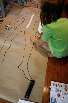 Okul öncesi Vücudumuz Sanat Etkinlikleri 12 Mimuucom