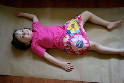 Okul öncesi Vücudumuz Sanat Etkinlikleri 1 Mimuucom