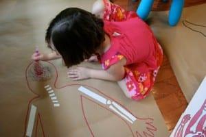Okul Öncesi Vücudumuz Sanat Etkinlikleri 3