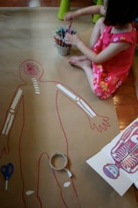 Okul Öncesi Vücudumuz Sanat Etkinlikleri 4