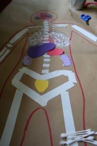 Okul Öncesi Vücudumuz Sanat Etkinlikleri 8