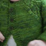 Örgü Bebek Hırka Modeli Yapılışı 5