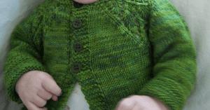 Örgü Bebek Hırka Modeli Yapılışı