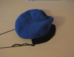 Örgü Polis Şapkası Nasıl Yapılır ? 17