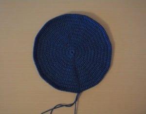 Örgü Polis Şapkası Nasıl Yapılır ? 8