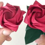 Origami Gül Nasıl Yapılır ?