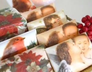 Sabuna Peçete Dekupaj Nasıl Yapılır ? 9