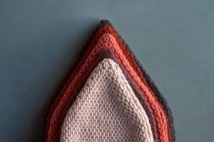 Tunus İşi Diyagonal Örgü Şapka Yapılışı 21