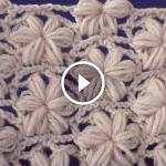Videolu, Çiçekli Örgü Lif Modeli Yapılışı 1