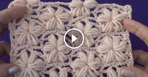 Videolu, Çiçekli Örgü Lif Modeli Yapılışı