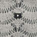 Videolu Dalga Deseni Örgü Şal Modeli Yapılışı 1