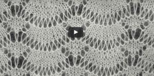 Videolu Dalga Deseni Örgü Şal Modeli Yapılışı