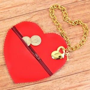 Videolu, Deri Kalp Çanta Yapılışı