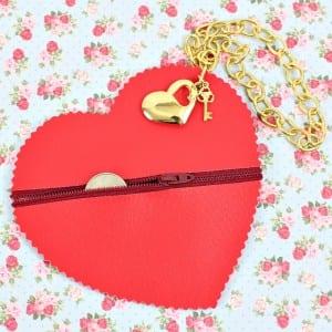 Videolu, Deri Kalp Çanta Yapılışı 4