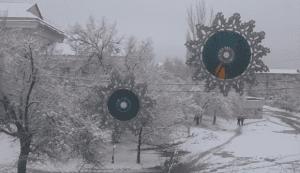Videolu, Eski CD den Örgü Kar Tanesi Yapılışı 1