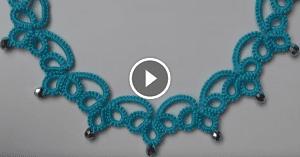 Videolu, İğne Oyası Kolye Yapılışı