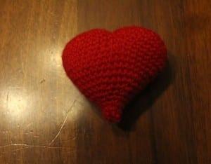 Amigurumi Kalp Yapılışı 11