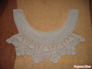 Badem Örgü Modeli Elbise Yapılışı 15