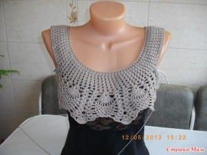 Badem Örgü Modeli Elbise Yapılışı 16