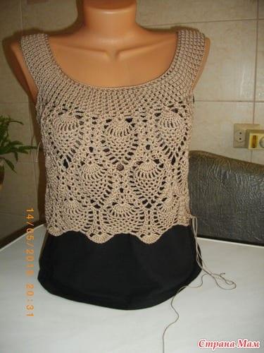 Badem Örgü Modeli Elbise Yapılışı 18