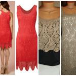 Badem Örgü Modeli Elbise Yapılışı 23