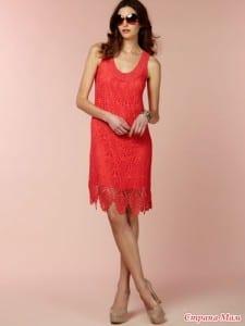 Badem Örgü Modeli Elbise Yapılışı 2