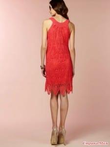 Badem Örgü Modeli Elbise Yapılışı 3