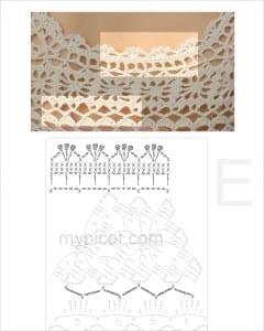 Dantel Süveter Modeli Yapılışı 8