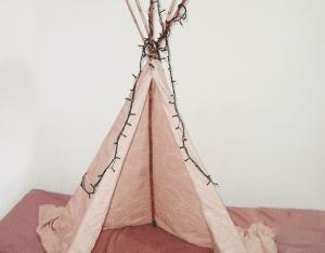 DIY, Çocukları İçin Kızılderili Çadırı Nasıl Yapılır? 5